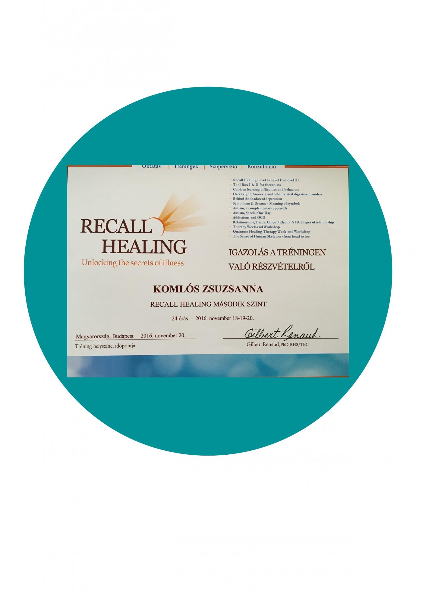Recall Healing 2